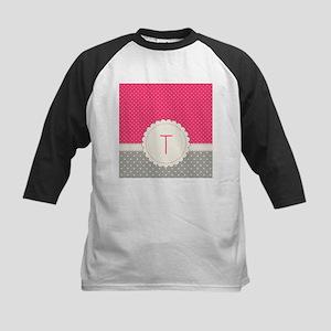 Cute Monogram Letter T Baseball Jersey