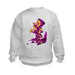 Mad Hatter Kids Sweatshirt