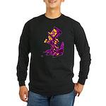 Mad Hatter Long Sleeve Dark T-Shirt