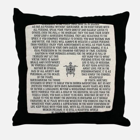 Cute Tatoo Throw Pillow
