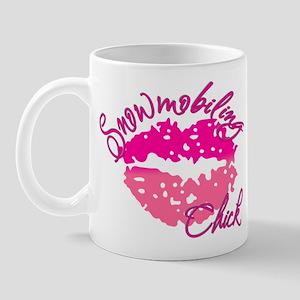 Snowmobiling Chick Mug