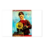 The Edison Phonograph Postcards (Package of 8)