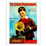 The Edison Phonograph Small Poster