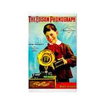 The Edison Phonograph Area Rug