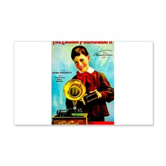 The Edison Phonograph Decal Wall Sticker