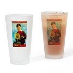The Edison Phonograph Drinking Glass