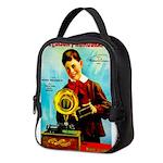 The Edison Phonograph Neoprene Lunch Bag