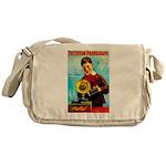 The Edison Phonograph Messenger Bag