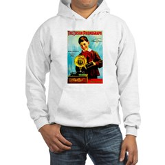 The Edison Phonograph Hoodie Sweatshirt