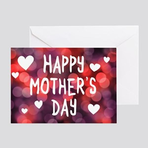 Happy Mother's Day Bokeh Greeting Cards