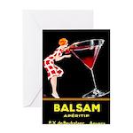 Balsam Aperitif Greeting Cards