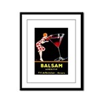 Balsam Aperitif Framed Panel Print
