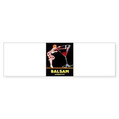 Balsam Aperitif Bumper Sticker