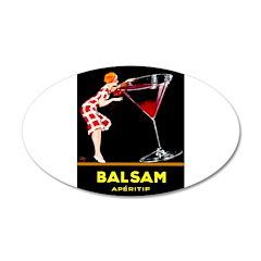 Balsam Aperitif Decal Wall Sticker