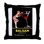 Balsam Aperitif Throw Pillow