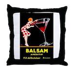 Balsam Aperitif Throw Pillow