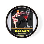Balsam Aperitif Wall Clock