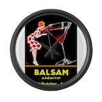 Balsam Aperitif Large Wall Clock