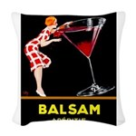 Balsam Aperitif Woven Throw Pillow