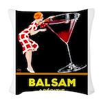 Balsam Aperitif Woven Throw Pillow