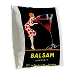 Balsam Aperitif Burlap Throw Pillow