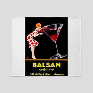 Balsam Aperitif Throw Blanket