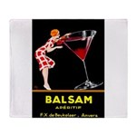 Balsam Aperitif Throw Blanket