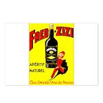 Fred-Zizi Aperitif Postcards (Package of 8)