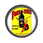 Fred-Zizi Aperitif Wall Clock