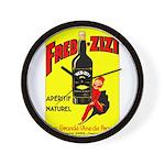Fred-Zizi Aperitif Wall Clock