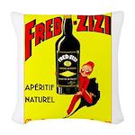Fred-Zizi Aperitif Woven Throw Pillow