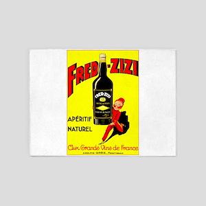 Fred-Zizi Aperitif 5'x7'Area Rug