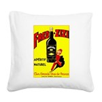 Fred-Zizi Aperitif Square Canvas Pillow