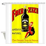 Fred-Zizi Aperitif Shower Curtain