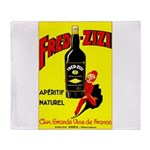 Fred-Zizi Aperitif Throw Blanket