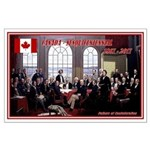 Canadian Sesquicentennial Print Poster