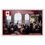 Canadian Sesquicentennial Print Poster