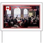 Canadian Sesquicentennial Print Yard Sign