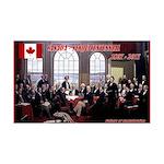 Canadian Sesquicentennial Print Decal Wall Sticker