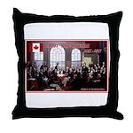 Canadian Sesquicentennial Print Throw Pillow