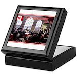Canadian Sesquicentennial Print Keepsake Box
