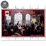 Canadian Sesquicentennial Print Puzzle