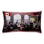 Canadian Sesquicentennial Print Pillow Case