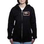Canadian Sesquicentennial Print Women's Zip Hoodie