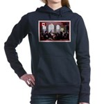 Canadian Sesquicentennial Print Women's Hooded Swe