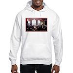 Canadian Sesquicentennial Print Hoodie Sweatshirt
