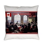 Canadian Sesquicentennial Print Everyday Pillow