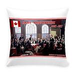 Canadian Sesquicentennial Print Everyday Pillow