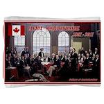 Canadian Sesquicentennial Print Pillow Sham