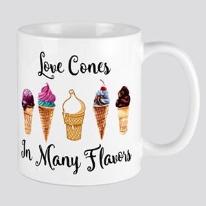 Love Cones In Many Flavors Mug